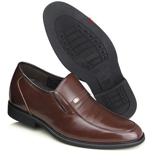 201405新品 春秋系列20419軟底雞心商務鞋6.5cm增高GOG高哥隱形增高鞋內增