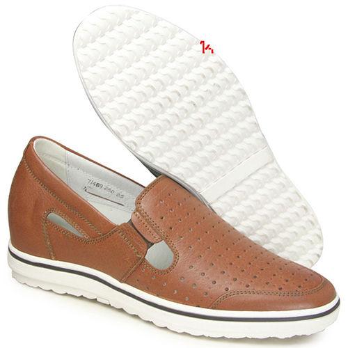201405新品 夏冬系列96417亞面透氣涼鞋6.0cm增高GOG高哥隱形增高鞋內增高