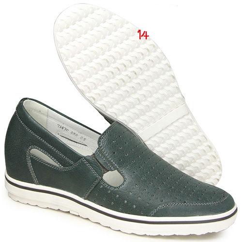 201405新品 夏冬系列07417亞面透氣涼鞋6.0cm增高GOG高哥隱形增高鞋內增高