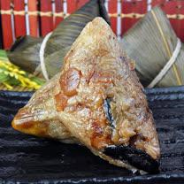 【陳媽媽】獨家巴掌南瓜干貝肉粽-10顆