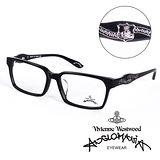 Vivienne Westwood 英國Anglomania英倫龐克徽章光學眼鏡(黑) AN24101