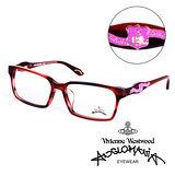 Vivienne Westwood 英國Anglomania英倫龐克徽章光學眼鏡(紅) AN24103