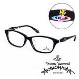 Vivienne Westwood 英國Anglomania英倫龐克土星環光學眼鏡(黑) AN24301