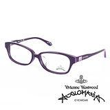 Vivienne Westwood 英國Anglomania英倫龐克方塊土星環光學眼鏡(黑+桃紅)AN24904