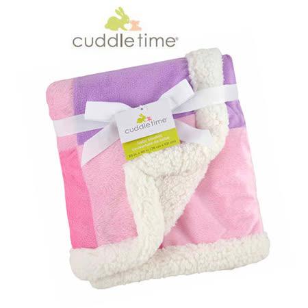 【美国cuddletime】多用途宝宝携带毯-粉红拼贴毯
