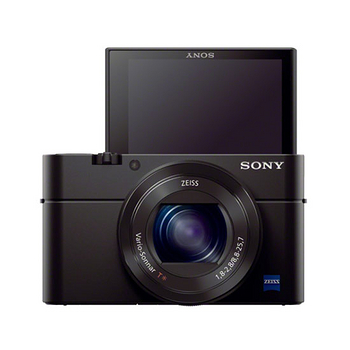 SONY RX100M3 (RX100III) 大光圈WiFi類單眼相機(公司貨)-送64G卡+原廠電池+專用電池+座充+水晶保護鏡+HDMI+清潔組+讀卡機+小腳架+保護貼+專用手工包+快門線