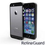 RetinaGuard 視網盾 iPhone5/5S 藍光保護邊框- 時尚黑