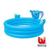 《購犀利》美國品牌【Bestway】大象三環噴水充氣泳池直徑152cm