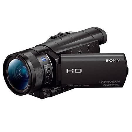 SONY HDR-CX900 高畫質攝影機(公司貨)-加送64G C10記憶卡+FV100高容量鋰電池+專用座充(附車充)+吹球拭鏡筆清潔組+中腳架+多合一讀卡機