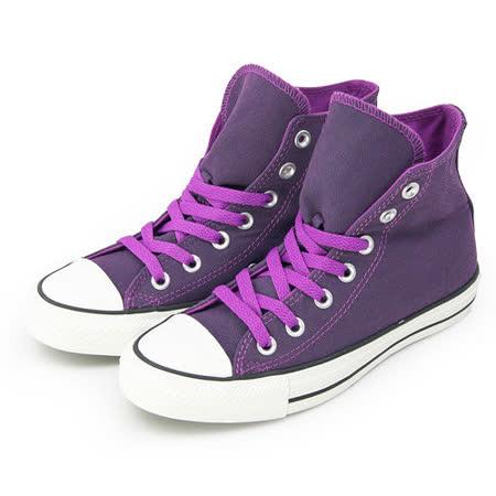 女 CONVERSE 帆布鞋 ALL STAR 深紫 34W170069