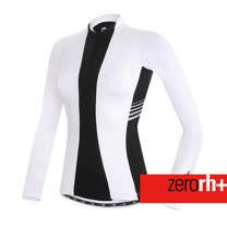 ZERORH+ 義大利抗UV吸溼排汗長袖自行車衣(女)★單車推薦★ 兩款顏色ECD0212