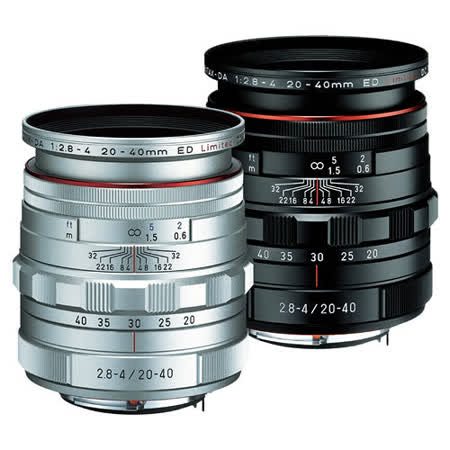 PENTAX HD DA 20-40mm F2.8-4ED Limited DC WR (公司貨)   - 【新】HD鍍膜鏡頭