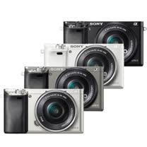 SONY A6000L 16-50mm單鏡組(公司貨)-送32G 記憶卡+專用電池+座充+復古皮套+清潔組+保護貼+讀卡機+迷你腳架