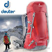 【德國 Deuter】AC Aera 30 專業登山背包.露營背包.雙肩背包.自助旅行包/34734 暗紅