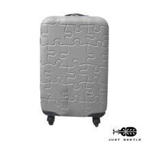 JUST BEETLE 拼圖系列ABS霧面輕硬殼行李箱20吋