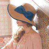 【PS Mall】夏天歐美復古大波浪蝴蝶結 草帽 遮陽帽 沙灘帽 (G606)