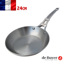 法國畢耶deBuyer<br/>原礦蜂蠟平底鍋24cm