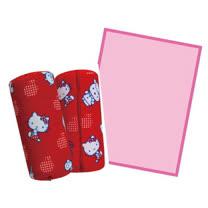 Hello Kitty兩用圓筒抱枕-蘋果KT-0728