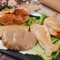 【大嬸婆】祈福保庇素五牲禮(素雞+素肉+素魚+素鴨+素膽肝)