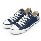 男 VISION STREET WEAR 經典帆布鞋 深藍 V22007