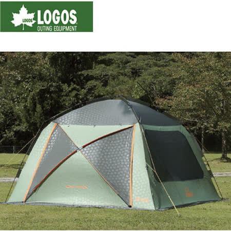 【LOGOS】Q-PANEL 3535速立連結帳篷/外帳耐水壓1600.抗UV/71459013