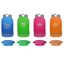 PUSH!戶外登山旅遊用品可當腰包登山包背包騎行包旅行包萬用旅行袋收納袋一入