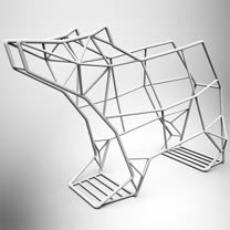 北極熊酒架 (白砂色)