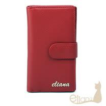 eliana 小牛皮信用卡夾(紅色)EN127W06RD