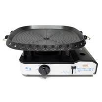 歐王OUWANG-遠紅外線混雙卡式爐JL-158 + 韓國最新火烤兩用烤盤NU-G