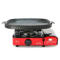 歐王OUWANG-卡式休閒爐JL-168 + 韓國最新火烤兩用花形紋烤盤NU-B