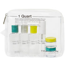 《TRAVELON》旅行分裝瓶罐組(綠6入)