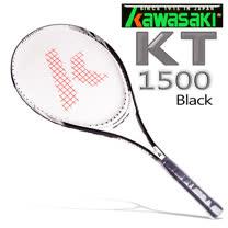 Kawasaki KT1500 BLACK 專業鋁合金網球拍