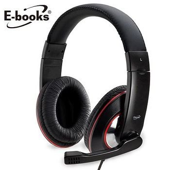 E-books S1 爵色重低音單插孔耳機麥克風 E-EPA024