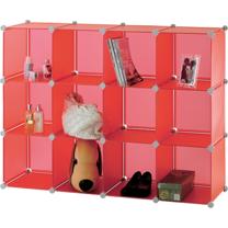 【ikloo】12格收納櫃-12吋收納櫃/整理收納組合櫃