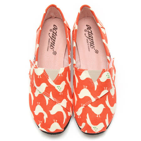 【童鞋城堡】八爪魚女款小白鴿懶人鞋休閒鞋W5008