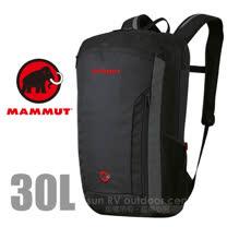 【瑞士 MAMMUT 長毛象】Xeron Element 30L 輕量多功能舒適電腦背包_02670 煙霧黑