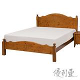 【優利亞-和風】單人3.5尺實木床架