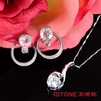 石頭記 週年慶獨家-天然白水晶精靈套組