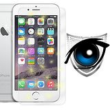 【D&A】Apple iPhone 6 (4.7吋)專用日本濾藍光9H疏油疏水增豔螢幕貼