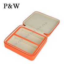 【P&W眼鏡收藏盒】【真皮皮革】2支裝 手工精品 眼鏡盒 太陽眼鏡盒