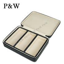 【P&W眼鏡收藏盒】【真皮皮革】3支裝 手工精品 眼鏡盒 太陽眼鏡盒