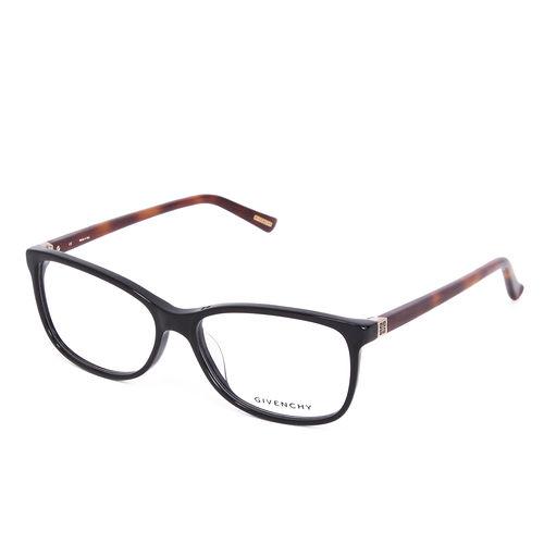 GIVENCHY 法國魅力紀梵希 都會平光眼鏡 黑 琥珀 GIVGV8600700