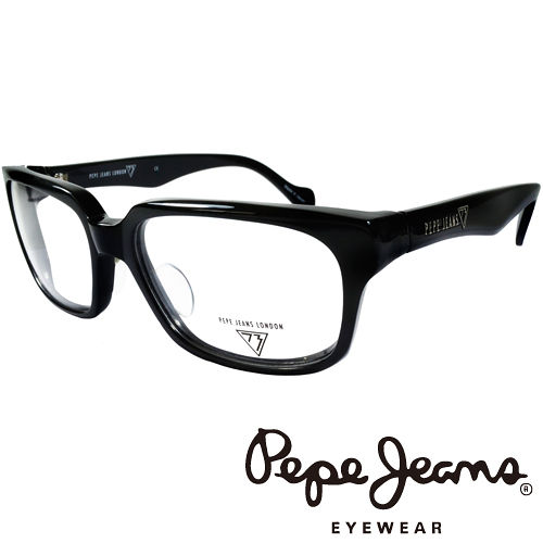 Pepe Jeans 英倫 簡約風格 光學鏡框  黑  PJ734106~001