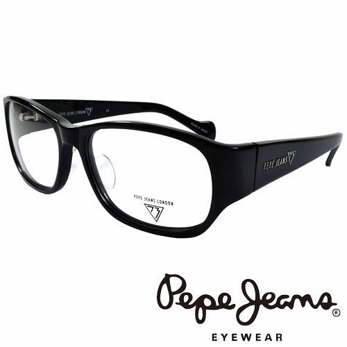 Pepe Jeans 英倫 低調龐克星型暗花光學鏡框  黑  PJ734103~001