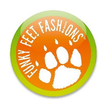 英國 Funky Feet 手工學步鞋 室內鞋 粉紅色臘腸狗 6-24M