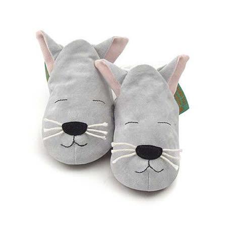 英國 Funky Feet 手工學步鞋 室內鞋 小貓咪 6-24M