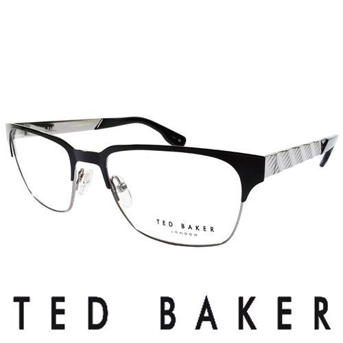 TED BAKER 英倫城市金屬 眼鏡  銀  TB4195~009