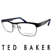 TED BAKER 倫敦簡約魅力流線造型眼鏡 (藍) TB4182-001