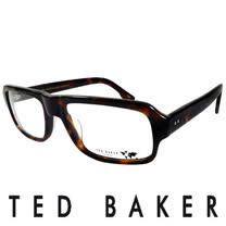 TED BAKER 倫敦經典個性造型眼鏡 (琥珀) TBG012-178
