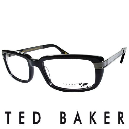 TED BAKER 英國城市魅力 眼鏡 黑  TBG013~001